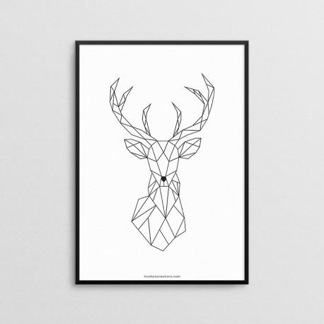 Geometric - Jeleń