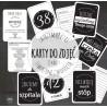Karty do zdjęć - Moja Ciąża - Black & White - kolekcja