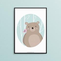 Zwierzęta Leśne - Niedźwiedź