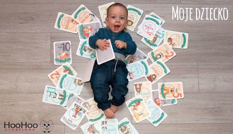 Karty do Zdjęć - Moje Dziecko - Tribal Zwierzęta